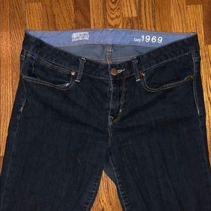 Dark Long Skinny Jeans